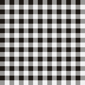 black white checks