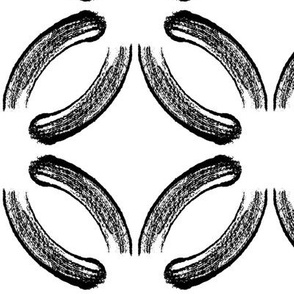 Brush Stroke Circles