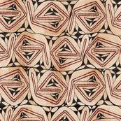 Aboriginal Bark Cloth - Large Scale 54x42