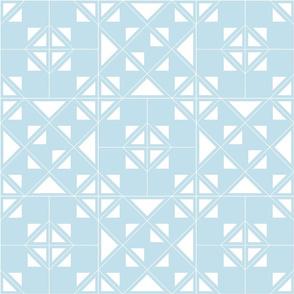 Geometric blue_120