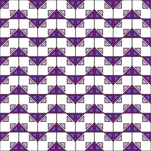Geometric design pink_114