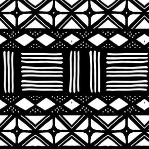 Mudcloth African Mali Print