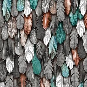 Flight of Feathers Graying Sm