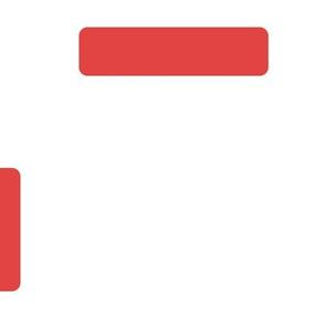 round rectangles red fat bricks