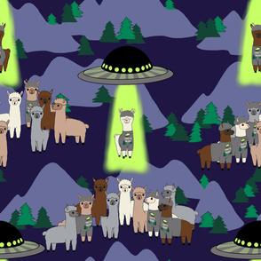 Llamas Watch X-Files Too