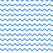 neutral zigzag- white and 2020 pantone blue