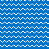 neutral zigzag- 2020 pantone blue and white