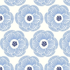 bright blue camellia