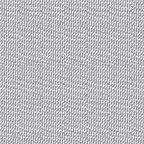 Zigzag Woven Texture- Heather Grey