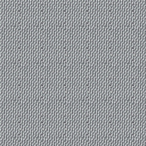 Zigzag Woven Texture- Charcoal