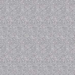 Tweed Woven Texture- Heather Grey