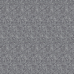 Tweed Woven Texture- Charcoal