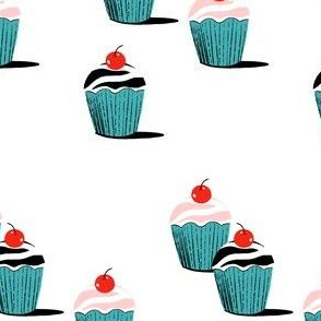 Modern cupcakes