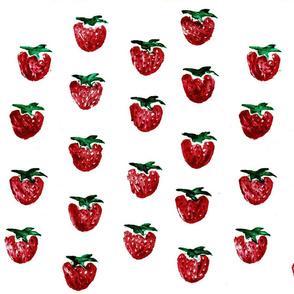 Strawberry Print A
