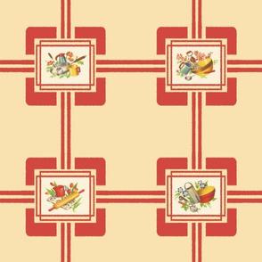 MEEMAW'S KITCHEN (RED)