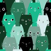 Catpalooza turquoise green