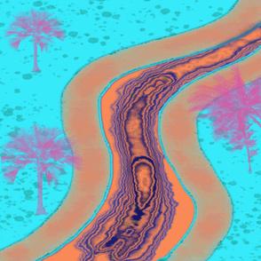 Florida Abstract Landscape - One Yard ©️GargoyleSentry