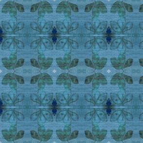 Peony Leaf Blue