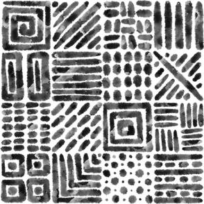 Orderly Ink Blots