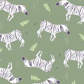 Abstract-Zebra_light_Green