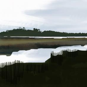 marsh outside charleston, s.c.