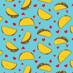 I love tacos - blue - Taco Valentine - Valentine's Day - LAD19
