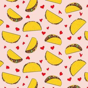 I love tacos - light pink - Taco Valentine - Valentine's Day - LAD19