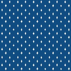 Farmhouse  polka dots Pantone 2020 Classic Blue