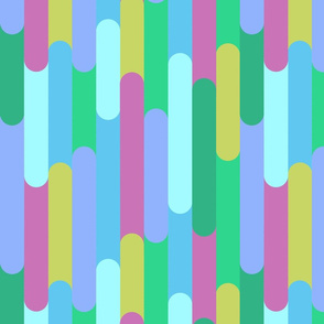 Overlapping Stripes pastel