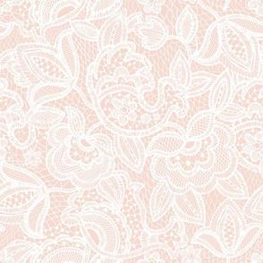 blushy lace
