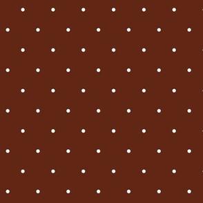 mahogany swiss dots