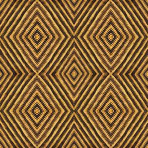 Kuba Tribal Diamond - Wallpaper