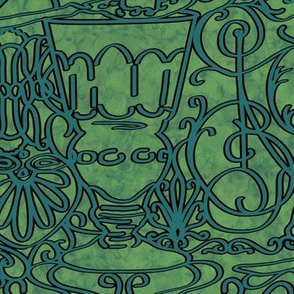 Art Nouveau Absinthe Fretwork