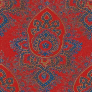 French Arabesque Red
