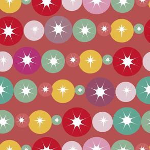 circles retro pattern