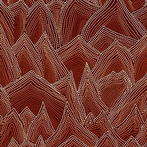 Stitch Mountains Tan