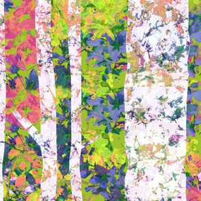 ABSTRACT BIRCH fall