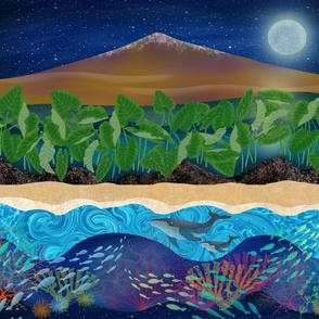 Mauna Kea 42 x 36 Landscape
