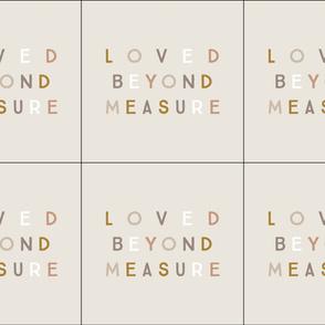6 loveys: loved beyond measure // spice, stone, sugar sand, mud, bronze