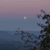 Blue Mountains moonrise