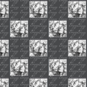 Boggy Checkered in Black & White