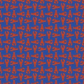 red on stripe
