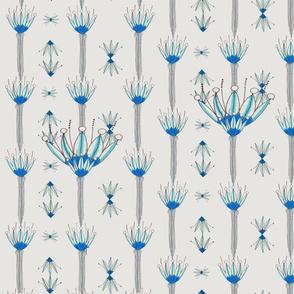 Art-Nouveau-blue-tulips