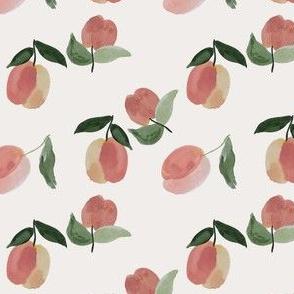peachy clean on natural white