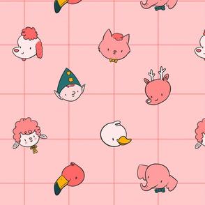 Kitschy Character Print