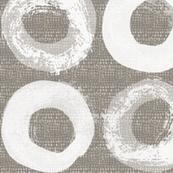 Zen Circles White