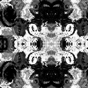 Black and White Swirls
