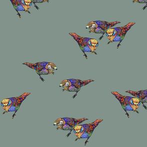 Khaki Birds