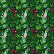 Dark Tropical Spoonflower