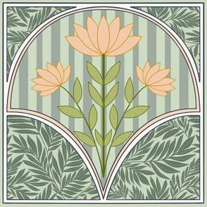 Floral Art Nouveau